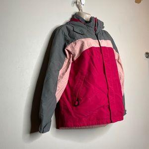 4/$35 LL Bean Girls Fall Spring Jacket Nylon Large